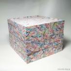 【処分特価】おせち料理 紙重箱 3段 和紙 日本製 在庫のみ