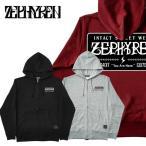 セール ZEPHYREN ゼファレン ZIP PARKA EMBLEM ジップパーカー