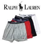 Yahoo!UNDIEPOLO RALPH LAUREN(ポロ ラルフローレン)ニットトランクス 4枚セット お買い得 パック メンズ 男性用 下着 LHKBP4