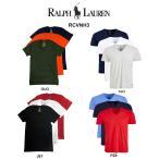 (SALE)POLO RALPH LAUREN(ポロ ラルフローレン)Tシャツ Vネック 3枚セット お買い得 パック メンズ 下着 RCVNH3