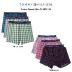 TOMMY HILFIGER(トミーヒルフィガー)トランクス 3枚セット メンズ 下着 Cotton Classic Slim Fit 09TV100