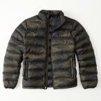 アバクロンビー&フィッチ メンズ ライトウェイト ダウンジャケット Abercrombie&Fitch Lightweight Down Jacket 迷彩 カモフラージュ