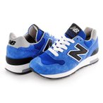 OUTLET New Balance M1400CBY width:D Made in USA ブルー スウェード/ナイロンメッシュ メンズ・レディスサイズ US7/25cm