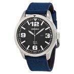 SEIKO  セイコー  腕時計 SNE329 ソーラー ブルー ナイロン ミリタリー メンズ
