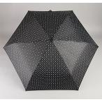 ユビオン ラクローズ 紳士・婦人兼用 全2色 折りたたみ傘 自動開閉 小紋 ブラック 6本骨 54cm グラスファイバー骨 テフロン加工 7