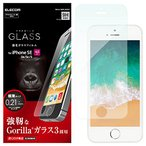 エレコム iPhone SE ガラスフィルム ゴリラガラス iPhone5S / iPhone5 / iPhone5C 対応 PM-A18S