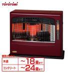 ストーブ 石油 室内 トヨトミ(TOYOTOMI) 石油ファンヒーターアンティークモデル LR-P680A-R
