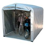 ショッピング自転車 自転車置き場 屋根 おしゃれ 家庭用 物置 サイクルポート アルミフレーム 丈夫 3台 サイクルハウス ワイドタイプ 厚手シート 3S-SVU アルミス 【代引不可】