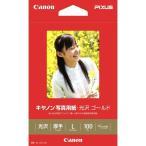 写真用紙・光沢 ゴールド L判 100枚 GL-101L100 キヤノン (D)