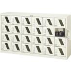 ショッピングシューズケース TRUSCO シューズケース 24人用 1552X380XH880 窓付 SC24M