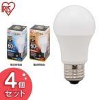 ショッピングLED LED電球 E26 60W相当 810lm 広配光タイプ LDA7N-G-6T5・LDA8L-G-6T5 4個セット アイリスオーヤマ