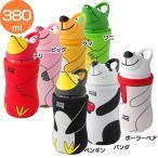 ショッピングサーモマグ 水筒 380ml アニマルボトル サーモマグ(B)