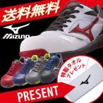 安全靴  ミズノ安全靴 作業靴 送料無料 ソックスプレゼント ポイント10倍 ミズノ MIZUNO C1GA1700 プロテクティブスニーカー