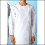 白衣 女性用 長袖 半袖 整体院 接骨院 動物病院 医療機関 抗菌 防臭加工 SAA