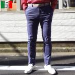 ショッピングイタリア パンツ メンズ イタリア製 ノータック ダブルフェイス 送料無料