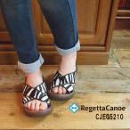 送料無料 RegettA Canoe カヌー アニマル柄サンダル 4colors (CJEG5210)