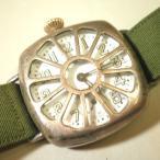 現状品 ウォルサム パイロットウォッチ ミリタリー WALTHAM シルバー VINTAGE COLLECTORS 米軍用腕時計 手巻き ジャンク品扱い 中古品