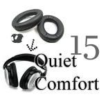 Bose QuietComfort 15 QC15 QC2 AE2 AE2i 対応 交換用 ヘッドホンパッド イヤーパッド イヤパッド オーディオ ヘッドフォンパッド イヤークッション
