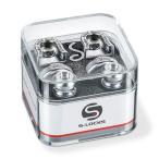 Schaller Strap Lock System S-Locks  14010201/Chrome