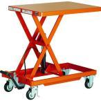 (ハンドリフター)TRUSCO 作業台リフター 1000kg 600X1200 ハンドルレス HLLA-E1000