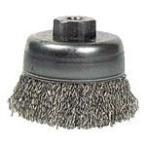 (カップブラシ)バーテック 電動クリンプカップブラシSUS0.36 30790
