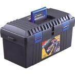 (プラスチック 工具箱 ツールボックス 道具箱 おしゃれ)TRUSCO トラスコ バンパーボックス 全長493mm TFP450