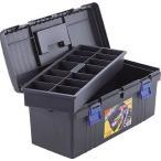(プラスチック 工具箱 ツールボックス 道具箱 おしゃれ)TRUSCO トラスコ バンパーボックス 全長576mm TFP530