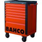 (スチール製ワゴン(キャビネットタイプ))バーコ BAHCOツールストレージハブ オレンジ7段 1477K7