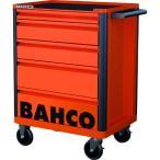 (スチール製ワゴン(キャビネットタイプ))バーコ BAHCOツールストレージエントリー ブラック5段 1472K5BLACK