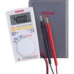 (電気測定器 テスタ)三和電気計器 SANWA ポケット型デジタルマルチメータ PM3