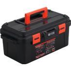 (プラスチック 工具箱 ツールボックス 道具箱 おしゃれ)TRUSCO トラスコ スーパーハードボックス 全長500mm TSHB500