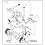 (グリス注入器)トラスコ FTK70用 ナット  FTK-039-3