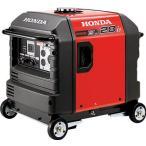 直送品 代引き不可(ガソリン発電機)HONDA 防音型インバーター発電機 2.8kVA(交流/直流)セル付/車輪付 EU28IS1JNA3