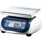 送料無料 (はかり 秤)A&D 防塵防水デジタルはかり(検定付 2区) SK2000IWP-A2