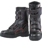 (安全靴 保護靴 作業靴 おたふく 安全シューズ半長靴マジックタイプ 23.5 JW775235