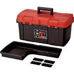 (プラスチック 工具箱 ツールボックス 道具箱 おしゃれ)リングスター ジョイクラブRBRB-4600レッド/ブラック RB4600RBK