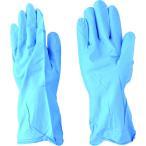 (ニトリルゴム手袋)エステー モデルローブNO340 ニトリル手袋耐油薄手 Lブルー NO.340LB