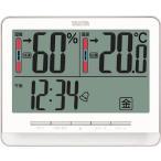 (温度計・湿度計)TANITA デジタル温湿度計 TT‐538‐WH  TT-538-WH