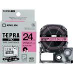 (ラベル用品)キングジム テプラPROテープ マグネットピン/黒字 SJ24P