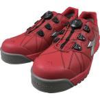 (プロテクティブスニーカー)ディアドラ DIADORA安全作業靴 フィンチ 赤/銀/赤 25.0cm FC383250