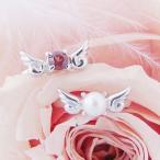 ベビーリング 刻印 天使の翼 宝石箱セット(チェーン付)