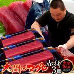 大間のまぐろ 赤身200g×3柵 |青森県大間産 本マグロ 刺身 サク切り身 クロマグロ おすすめ 鮪 ごちそう お取り寄せ