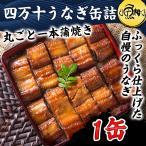 うなぎ 蒲焼き 国内産 四万十うなぎ缶詰 丸ごと一本蒲焼き 1缶
