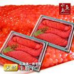 北海道〜岩手県産 生筋子(生いくら)季節限定「ずっしり大粒 生すじこ」 2kg 送料無料