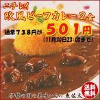 欧風ビーフカレー 2食 ニチレイ業務用レトルト食品
