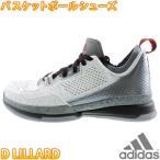 adidas D LILLARD 白赤 アディダス Dリラード バスケットシューズ バッシュ メンズ スニーカー S85475