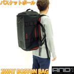 AND1 ボストンバッグ バックパック 黒赤 2WAY BOSTON BAG バスケットボール リュックサック 598183