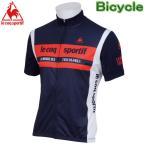 ルコック サイクルウェア UVソフトメッシュジャージ UPF50 半袖シャツ Lecoq 自転車ウエアー QC-741363