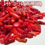 赤珊瑚  レッドコーラル さざれ(100g550円) 赤珊瑚さざれ コーラル 天然石 さざれ