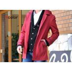 ショッピング2way 2way メンズ コート ステンカラー コート / メンズ 長袖 カラー フード付 2way Sacro